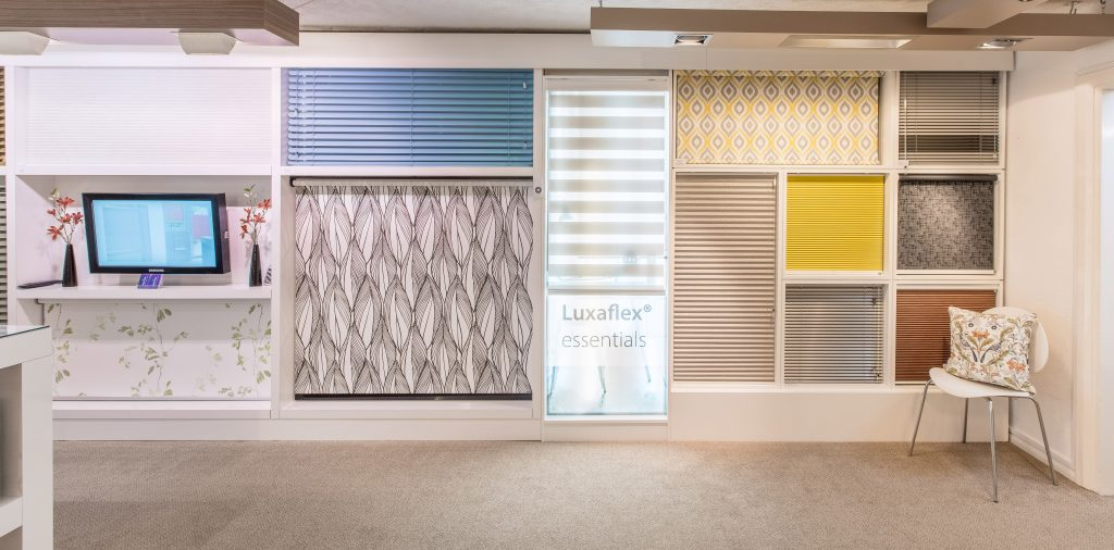 Blind samples in the showroom